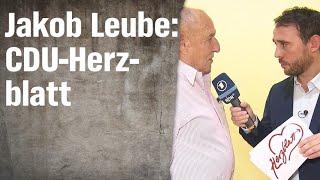CDU-Herzblatt mit Jakob Leube