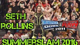 Seth Rollins Summerslam 2016 Attire Caw formula svr 11 ps2