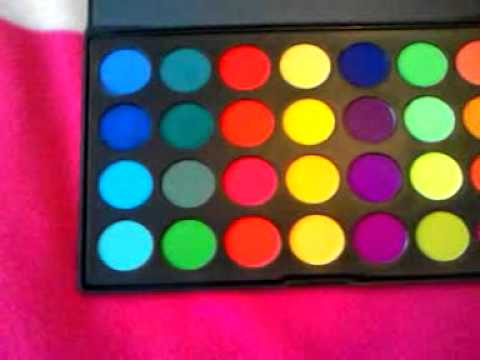 Neon eye makeup Neon eyeshadow Neon make up Couture and the ...
