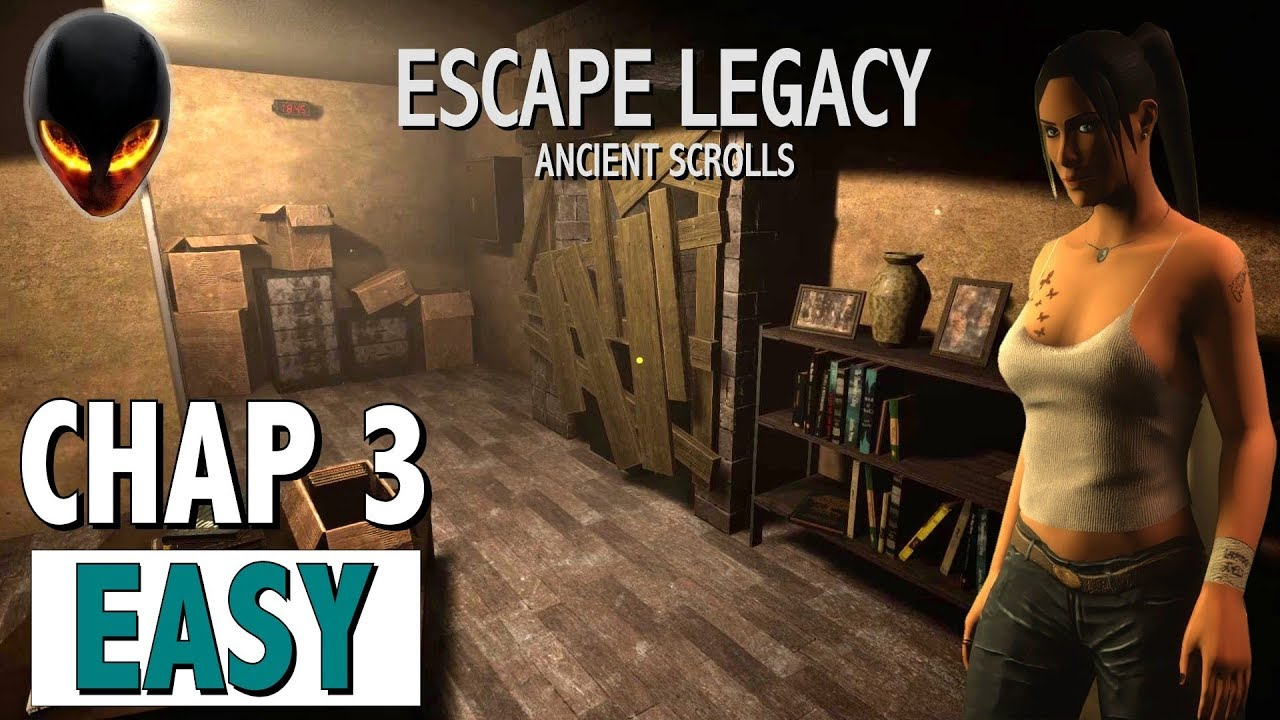 Escape Legacy – Ancient Scroll