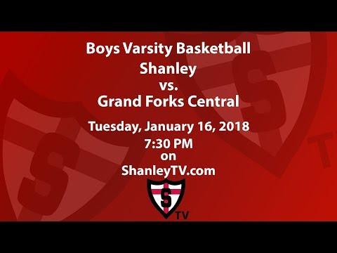 Boys Varsity Basketball: Shanley vs. Grand Forks Central