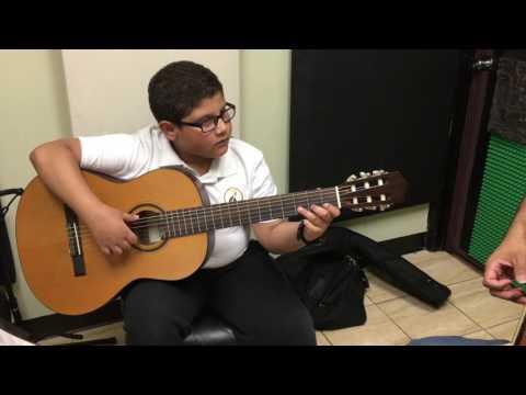 J R Music School Gabriel Valencia - Por una cabeza. Carlos Gardel.
