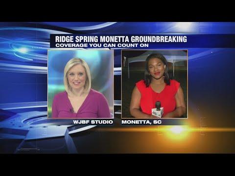 Ridge Spring Monetta Groundbreaking-GMA 6:30AM