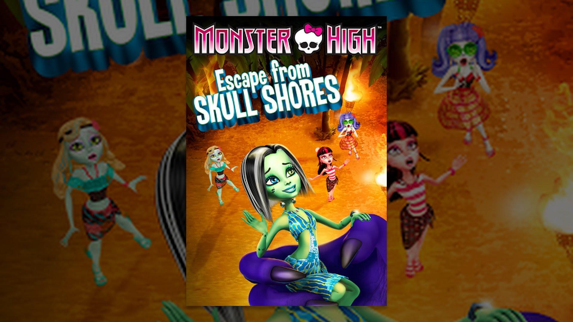Monster High: Escape from Skull Shores - YouTube