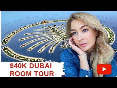 DUBAI APARTMENT TOUR | $40K RENT ON THE PALM ISLAND