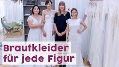 Welches Brautkleid für welchen Figurtyp?