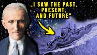 Nikola Tesla's Warning of the Philadelphia Experiment & Time Travel