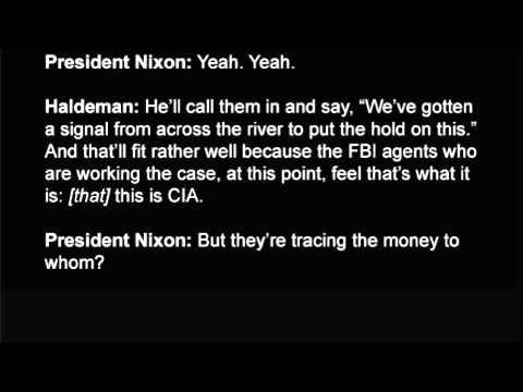President Nixon And H.R. Haldeman Discuss The Watergate Investigation, June 23, 1972