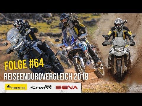 Reiseenduro Vergleich 2018 – Motorradreise.TV Folge #64 – F 850 GS – Adventure Sports – Tiger XCA