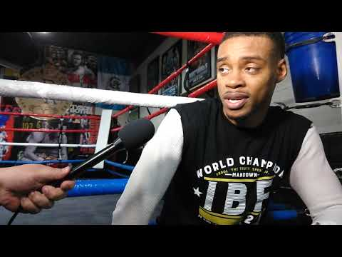 ERROL SPENCE FULL MEDIA DAY DALLAS TX