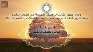 ٧ معاني مع أخلاق النبي لأنك تراه - السيرة النبوية