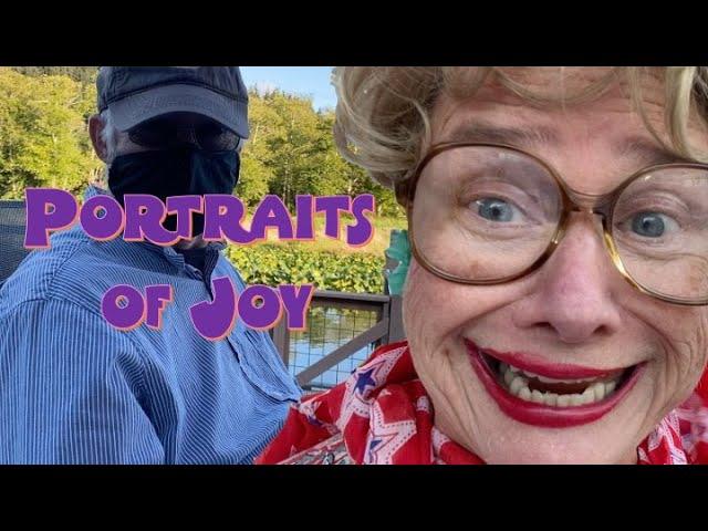 Portraits of Joy! 5 minute Friday