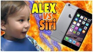 バイリンガル2才児の英語がシリに通じる?// Toddler Talks to Siri thumbnail