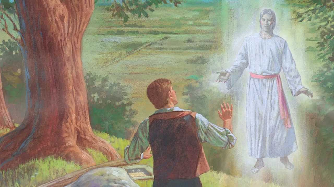 Book Of Mormon Stories 1 54 Joseph Smith Sees A Vision