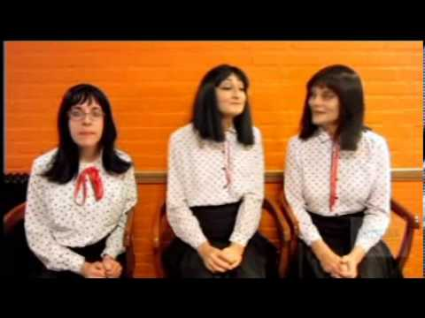 The Kransky Sisters send a birthday message to QAC