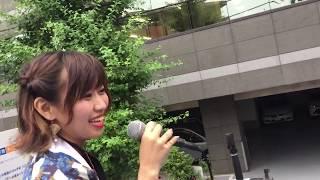 彩嵐風「白銀朧月」2019.07.21浦和よさこい西口会場1回目