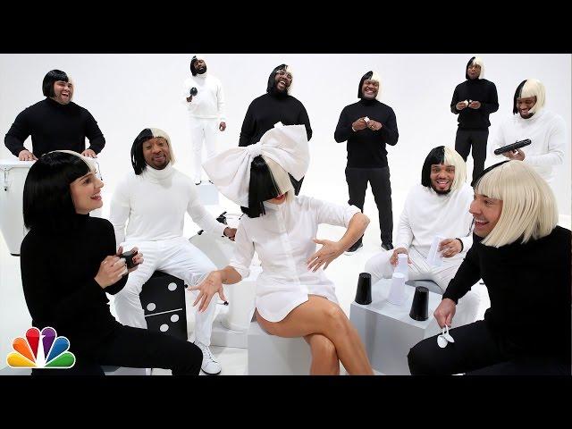 Jimmy Fallon, Sia, Natalie Portman & The Roots Sing Iko Iko