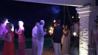 Corfu dj - Wedding party at the shell house.