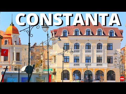 Constanta Romania 2018 Town Center Best Place To Visit City Break Black Sea Beach