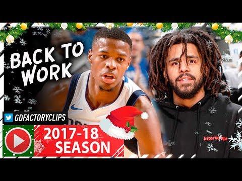 Dennis Smith Jr. RETURNS, Full Highlights vs Pistons (2017.12.20) - 15 Pts, J.COLE WATCHING!