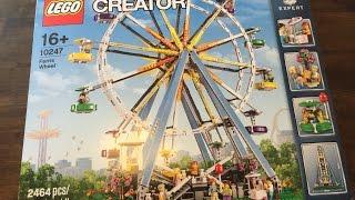 Lego Creator Expert 10247 Ferris Wheel, Time Lapse Build