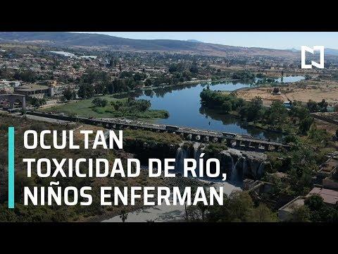 Río Tóxico: Ocultan por años contaminación en río de Jalisco y niños enferman de cáncer - En Punto