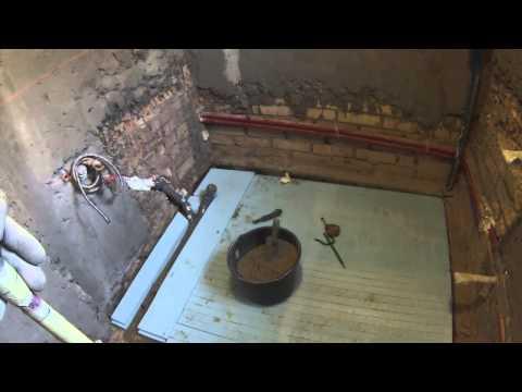 видео: Пирог теплого пола на грунте. Часть1