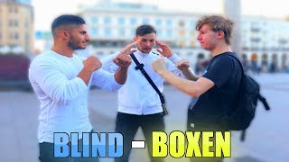 BLIND-BOXEN auf der STREET !..😱 | (SPORTLICH SEHEN) | STREETCOMEDY | Denizon