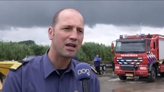 Brandweer oefent complex ongeluk met speedboot