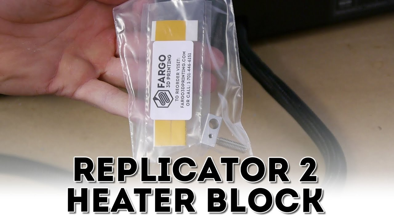 Heater Block embly For MakerBot Replicator 2 on