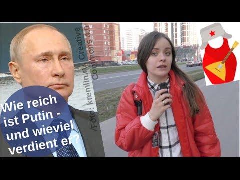 Wie reich ist Putin - und wieviel verdient er?