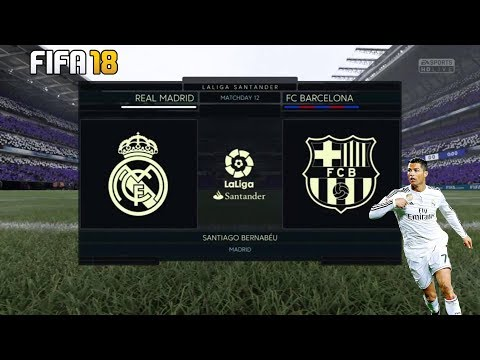FIFA 18 | Real Madrid vs Barcelona | Santiago Bernabéu | PURSUIT GAMERS
