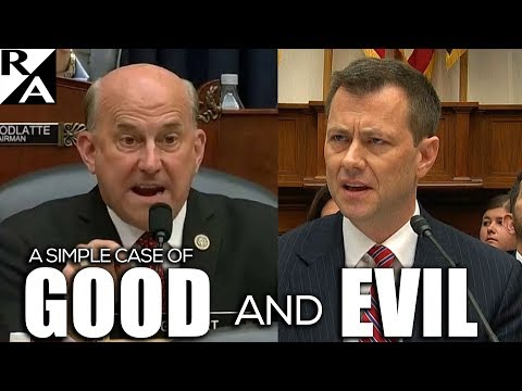 A simple case of GOOD and EVIL