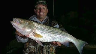 Nighttime Stripers off the Nova Scotia Rocks!!! {Catch Clean Cook}