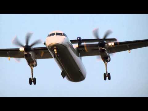 [HD] United Express Dash-8 Q400 - N209WQ