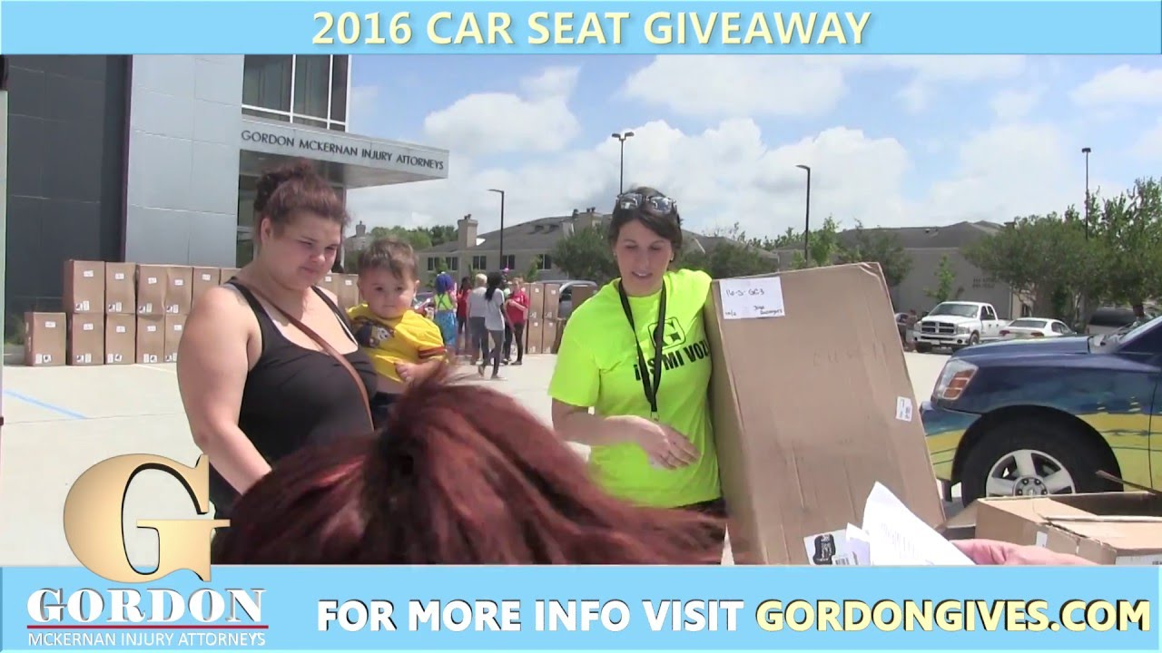 2016 4th Annual FREE Car Seat Giveaway