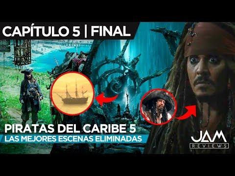LAS MEJORES ESCENAS ELIMINADAS | CAPÍTULO 5: FINAL | PIRATAS DEL CARIBE | JAM REVIEWS