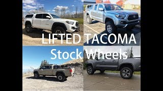 Best Lifts to maintain the stock Tacoma look.