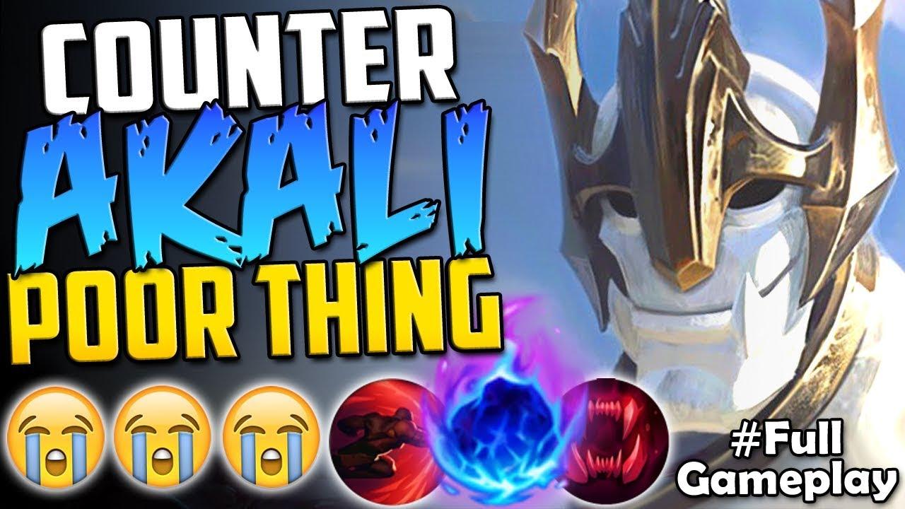 Counter Akali Poor Thing New Runes Galio Vs Akali