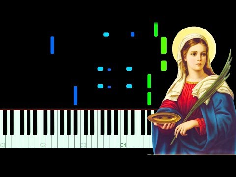 Santa Lucia Piano Tutorial + MIDI / Sheet Music thumbnail
