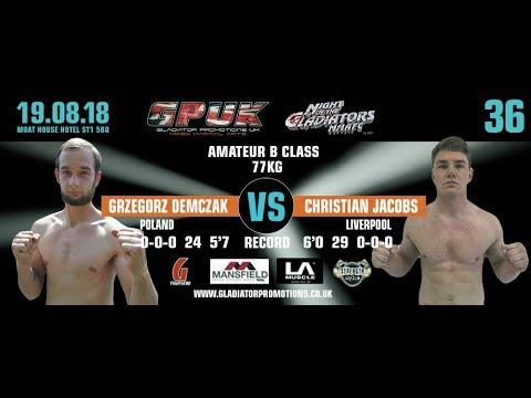 GPUK - Night Of The Gladiators 36 - Grzegorz Demczak vs Christian Jacobs
