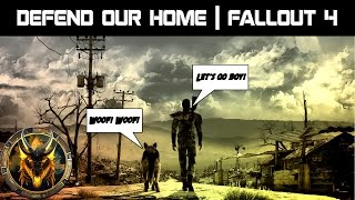 Defense and Structure Building - Fallout 4 - Ep.1
