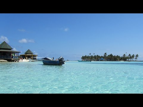 (Isla)San Andres island, Colombia, tour Johnny Cay and Acuario 3 of 3