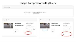 Image Compression with jQuery