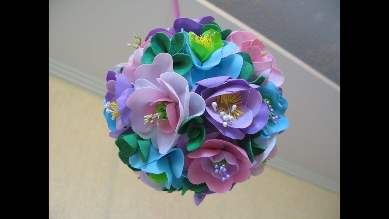 Как сделать тюльпан из фоамирана