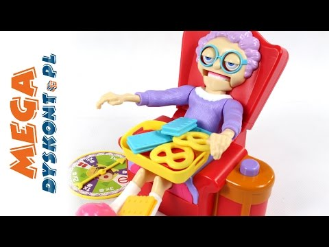 Greedy Granny  Arcade Game  Steal Grandmas Cookies!  Tomy