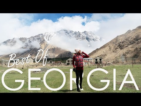 TOP 5 MUST VISIT Places In GEORGIA - Things To Do & Eat -Trip To Kazbegi, Kakheti, Ananuri, Gudauri