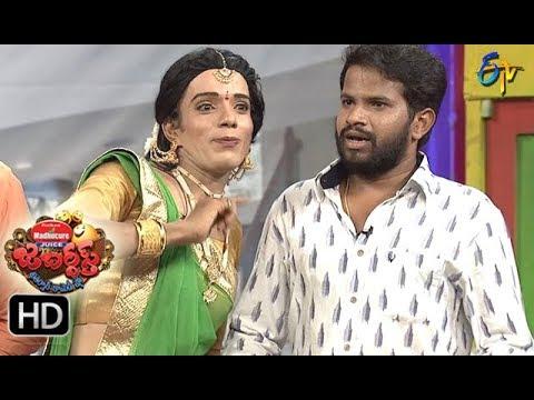 Hyper  Aadi Raijing Raju Performance | Jabardsth | 21st September 2017| ETV  Telugu