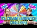 Weird Ice Cream Sandwich Challenge (MattyBRaps vs Ivey)