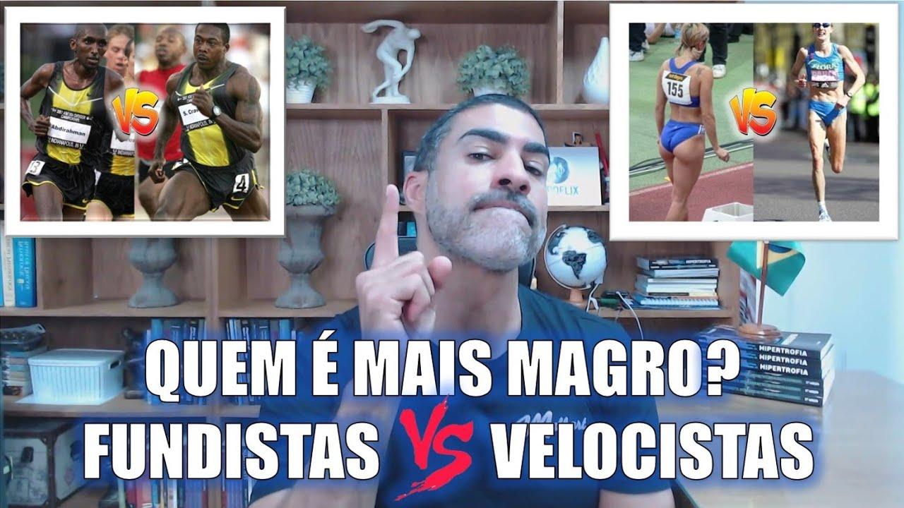 Velocistas vs Maratonistas: quem é mais magro?
